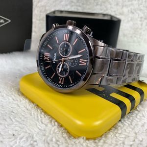 Flynn Chronograph Brown Stainless Steel Watch